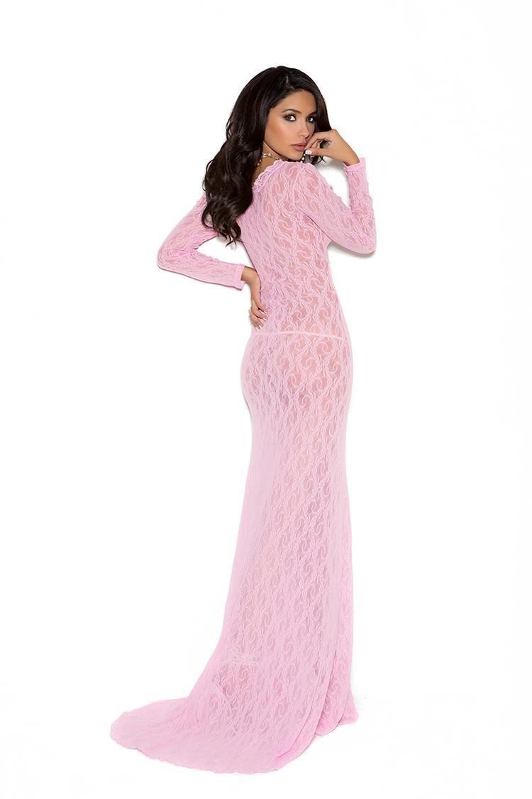 rosa klær store dildoer